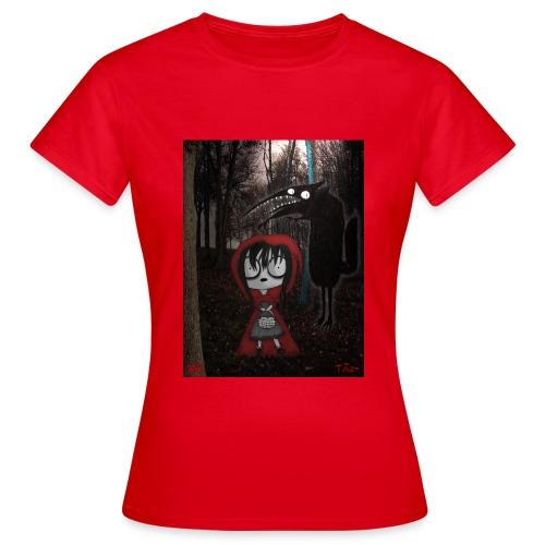 ridinghood jpg - Women's T-Shirt
