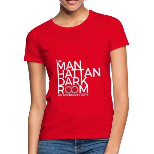 THE MANHATTAN DARKROOM BLANC GRIS - T-shirt Femme