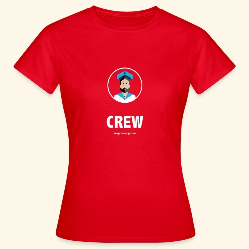SeaProof Crew - Frauen T-Shirt