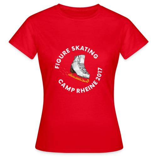 1st International Figure Skating Camp in Rheine - Frauen T-Shirt