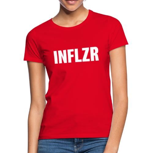 INFLZR white - Frauen T-Shirt