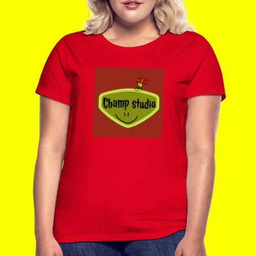 logo champ studio - T-shirt Femme