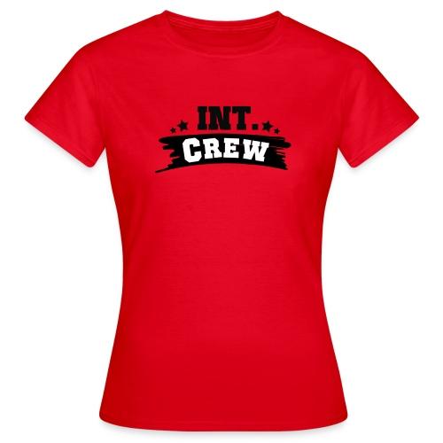 International Crew T-Shirt Design by Lattapon - Dame-T-shirt