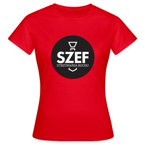 Logo-szef-utrzymania-ruchu_ok_net_black - Koszulka damska