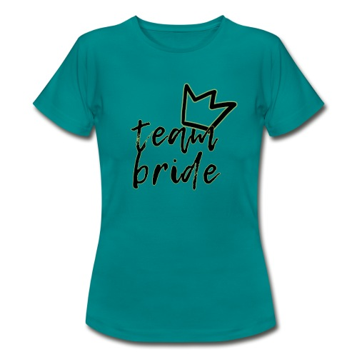 Team Bride - Maglietta da donna