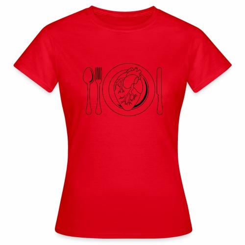 Es ist angerichtet. - Frauen T-Shirt