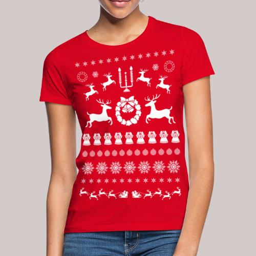 Kerst - Vrouwen T-shirt