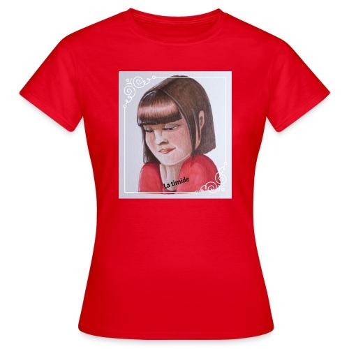 fille timide - T-shirt Femme