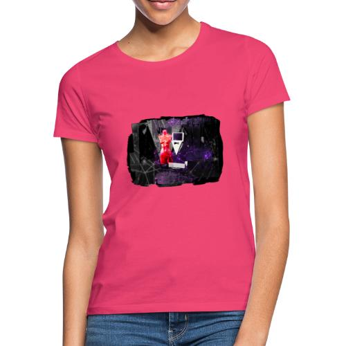 Mr R's Hymn to Lady Rosso Corsa (black PS logo) - Dame-T-shirt