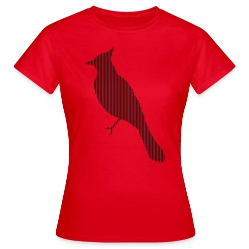 LINE BIRD 010b - Vrouwen T-shirt