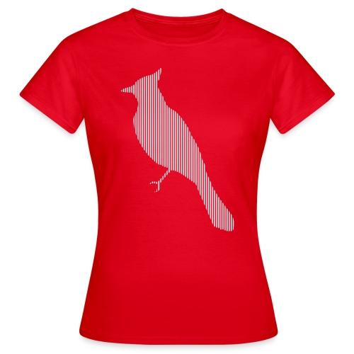 LINE BIRD 010w - Vrouwen T-shirt