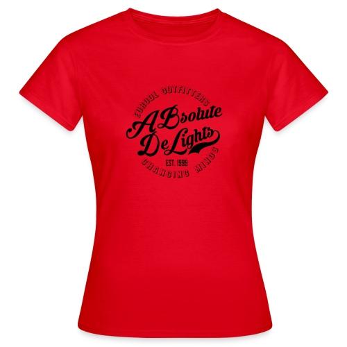 euroDL Retro T-shirt - Black - Vrouwen T-shirt