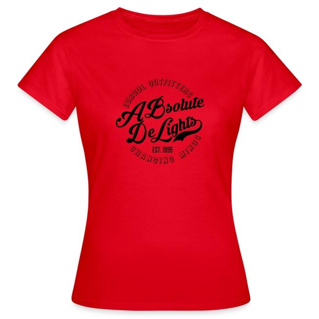 euroDL Retro T-shirt - Black
