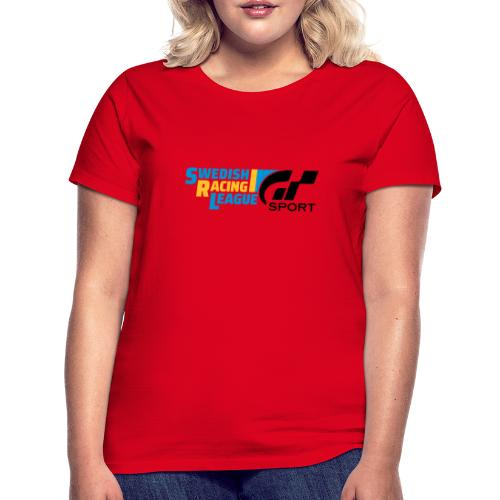 Swedish Racing League GT Sport svart - T-shirt dam