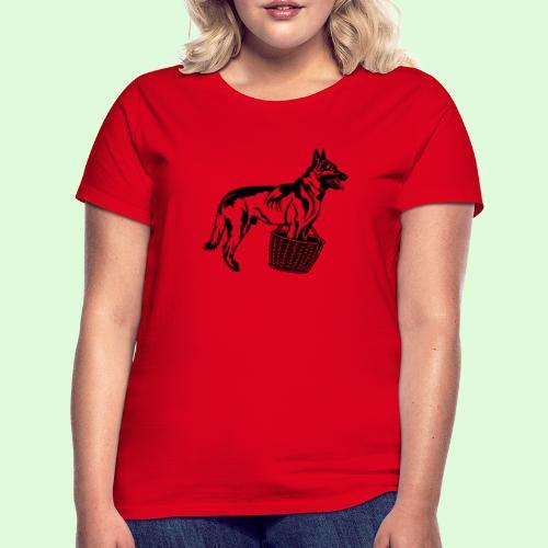 Berger Belge Malinois, la garde d'objet - T-shirt Femme