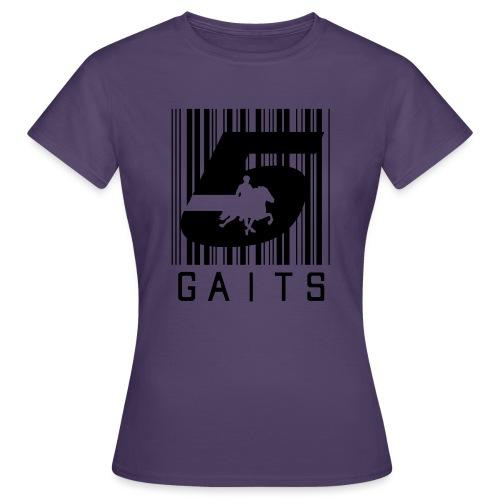 5gaitsBarcode 1 - Women's T-Shirt