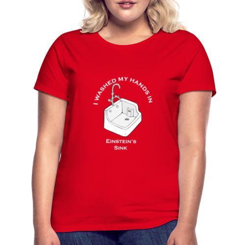 Einstein's Sink - Vrouwen T-shirt