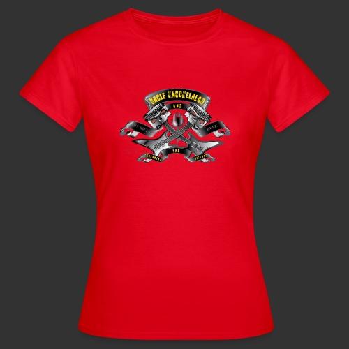 screaming pistons - Vrouwen T-shirt
