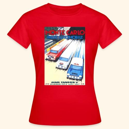 Monte Carlo Rally Minis Tee - Women's T-Shirt