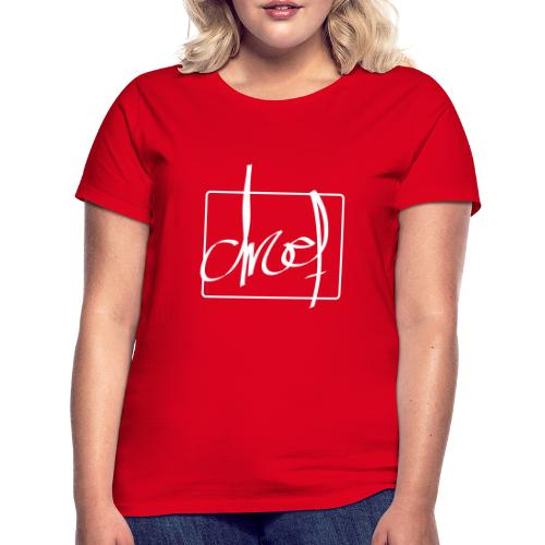 Droef.Gent wit - Vrouwen T-shirt
