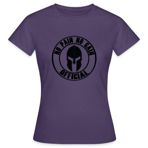 Logo circolare con elmo - Maglietta da donna