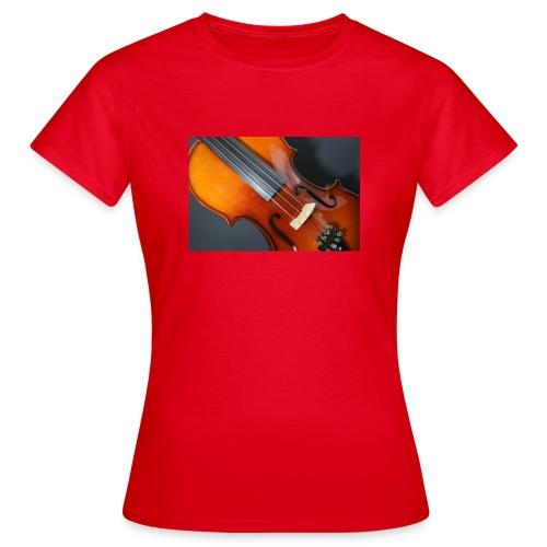 Violin - T-shirt dam