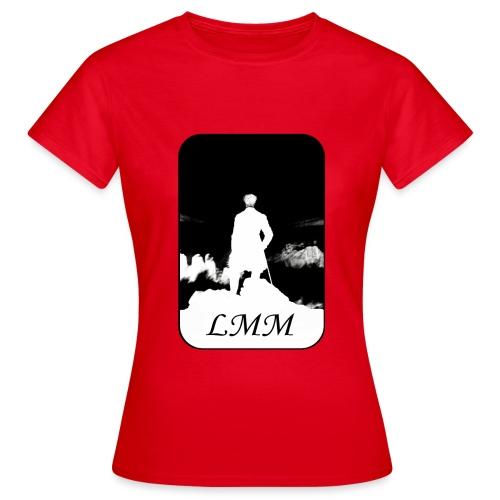 Logo LMM black png - T-shirt Femme