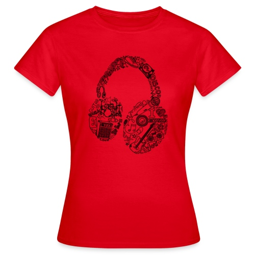 Música - Camiseta mujer