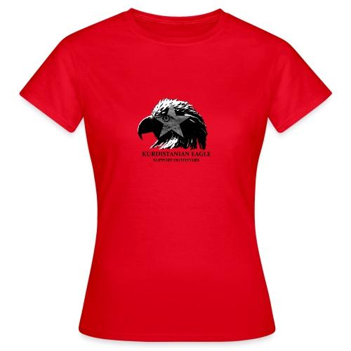 kurd eagle png - Frauen T-Shirt