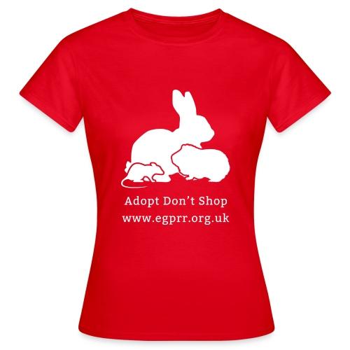 Adopt Don't Shop - Women's T-Shirt