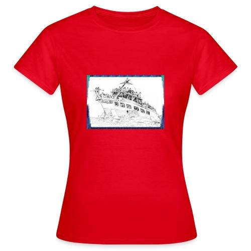 Aliscafo Eolie by fuoricronaca - Maglietta da donna