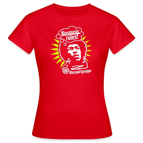 Blasmusic Rules - Frauen T-Shirt
