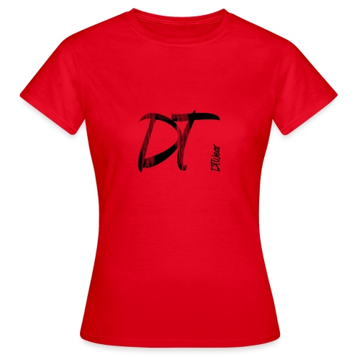 DTWear Limited Small Logo - Vrouwen T-shirt