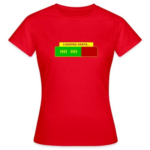 Loading Santa - Naisten t-paita