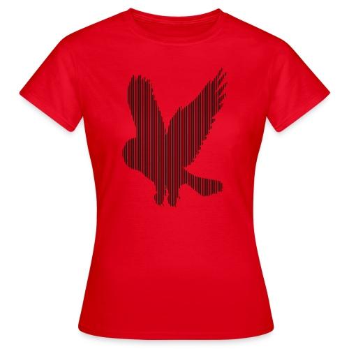 LINE BIRD 023b - Vrouwen T-shirt