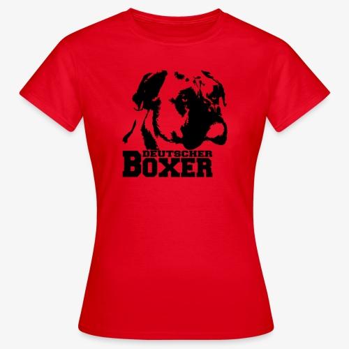 Deutscher Boxer - Frauen T-Shirt