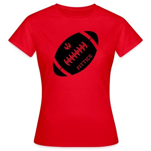 Fittics American Football - Women's T-Shirt