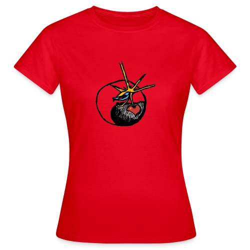 Mindfackt logo - Naisten t-paita