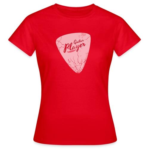 Plektron Guitar Player - Frauen T-Shirt