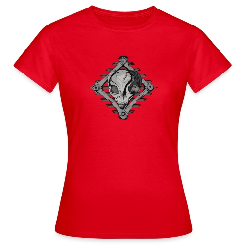 Visitor from alien planet - Women's T-Shirt