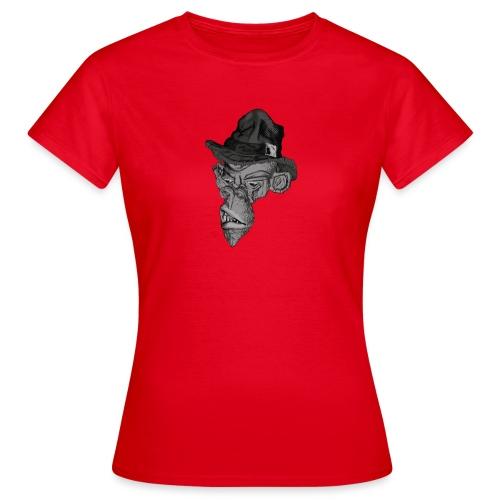 Monkey in the hat - Women's T-Shirt