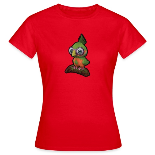 A bird sitting on a branch - Women's T-Shirt