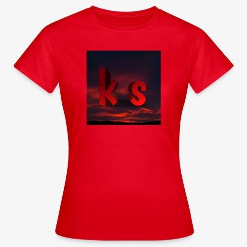 Logo KS red - T-shirt Femme