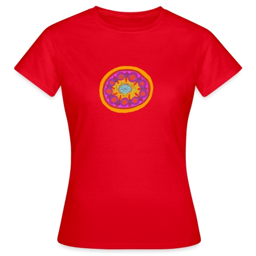 Mandala Pizza - Women's T-Shirt