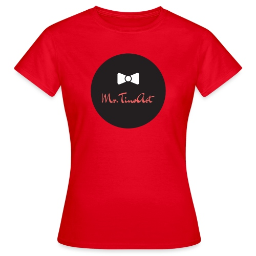 Mr.TinoArt Black - T-shirt Femme