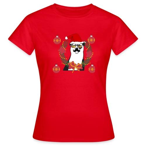 Ours de noël - T-shirt Femme