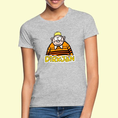 DirkjanHalfLogo - Vrouwen T-shirt