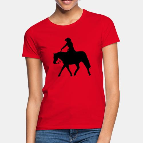 Ranch Riding extendet Trot - Frauen T-Shirt