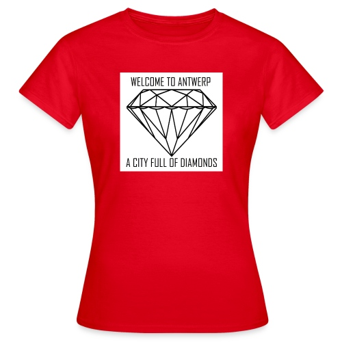 Antwerp lover - Vrouwen T-shirt
