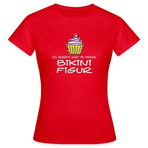 Bikinifigur - Frauen T-Shirt
